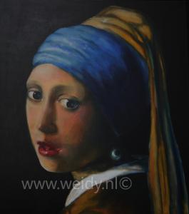 Meisje van Vermeer